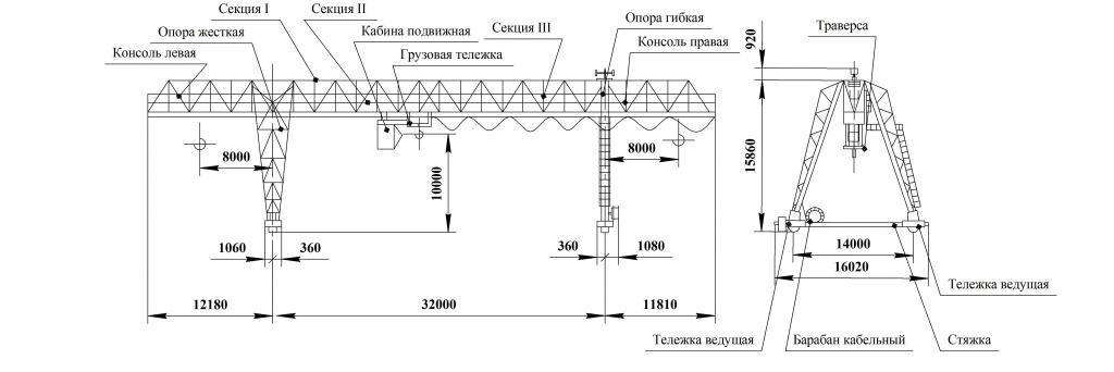 Чертеж ККС-10