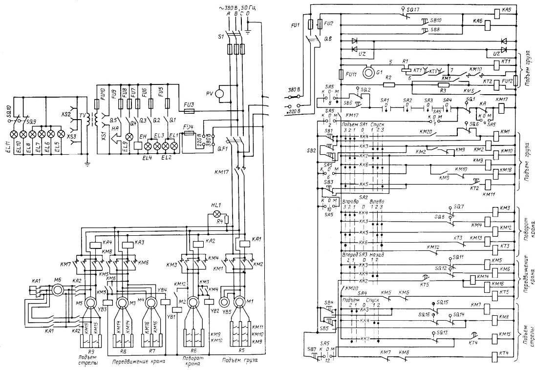 Электросхема ККС-10