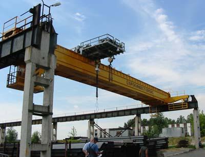 Мостовой кран: характеристики