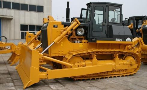 Shantui SD22 - недорогой бульдозер для строительных работ
