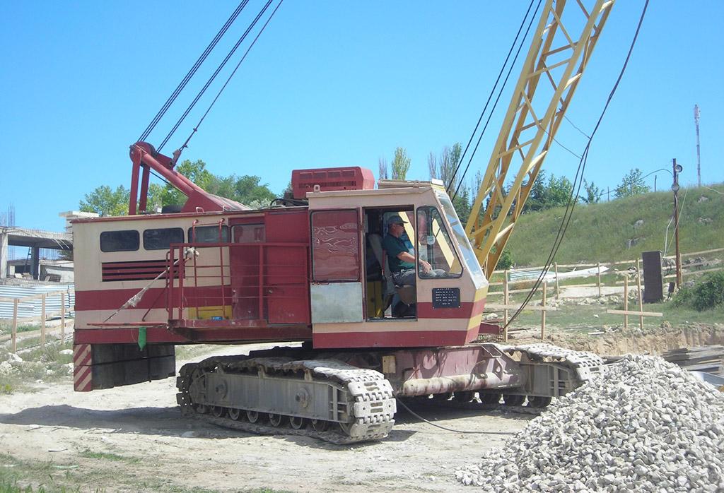 ДЭК-251 в работе