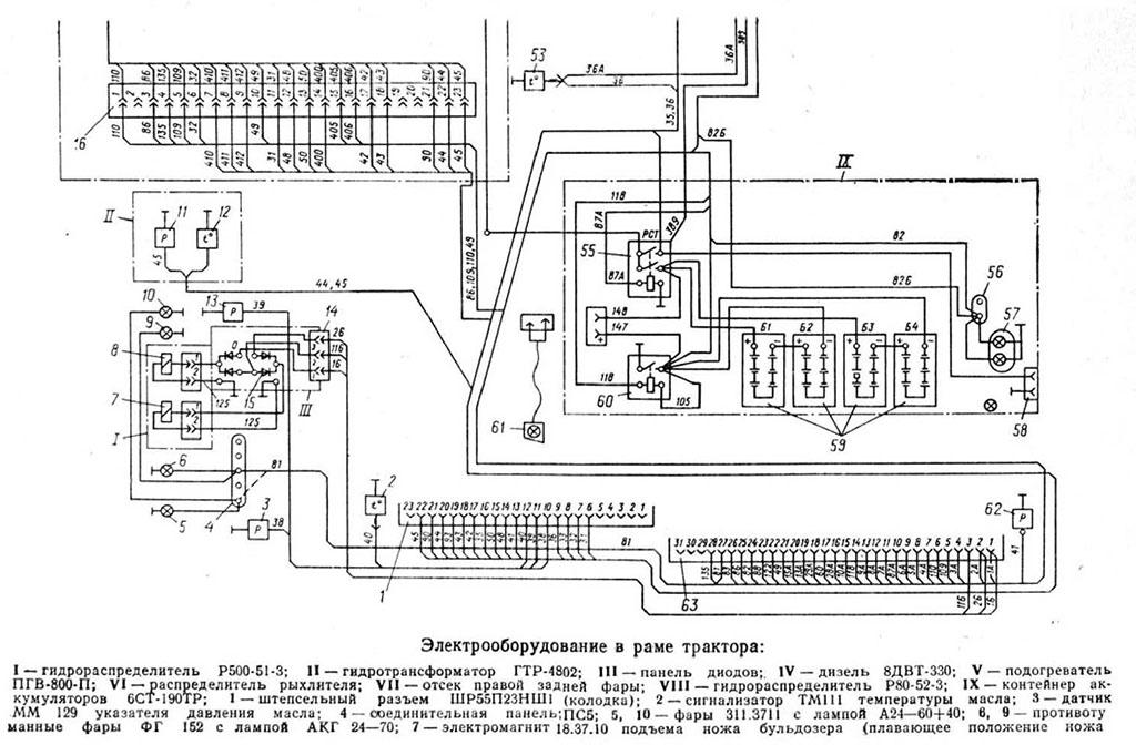 Электрооборудование Т-330