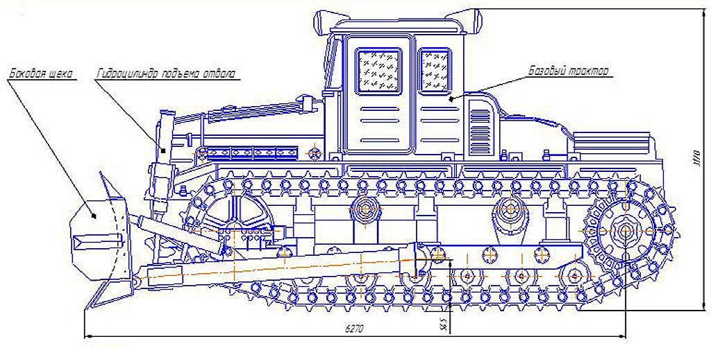 Габариты ДЭТ-250
