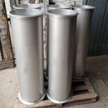 круглые воздуховоды из нержавеющей стали