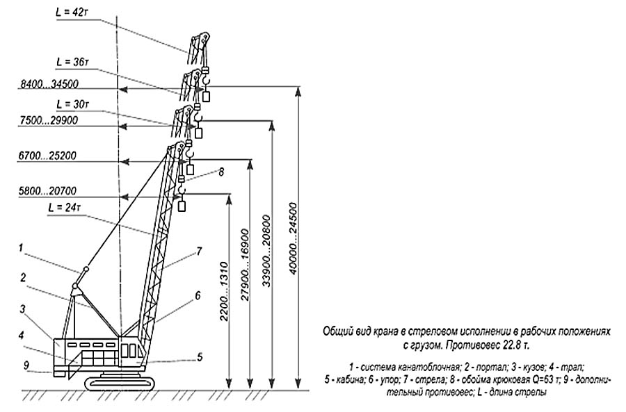 Общий вид ДЭК-251