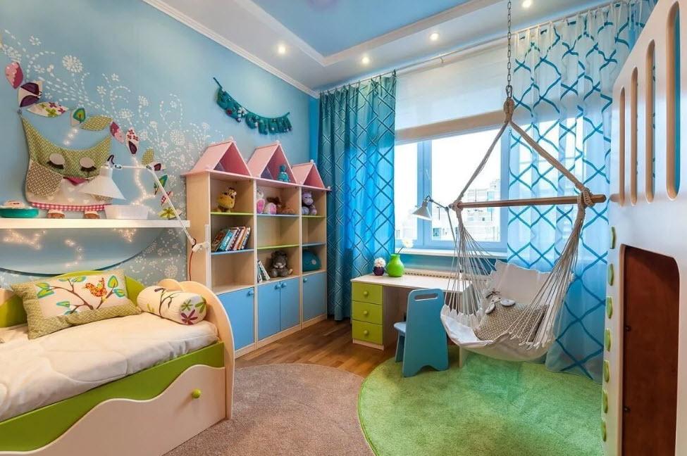 Оформление и ремонт в детской комнате
