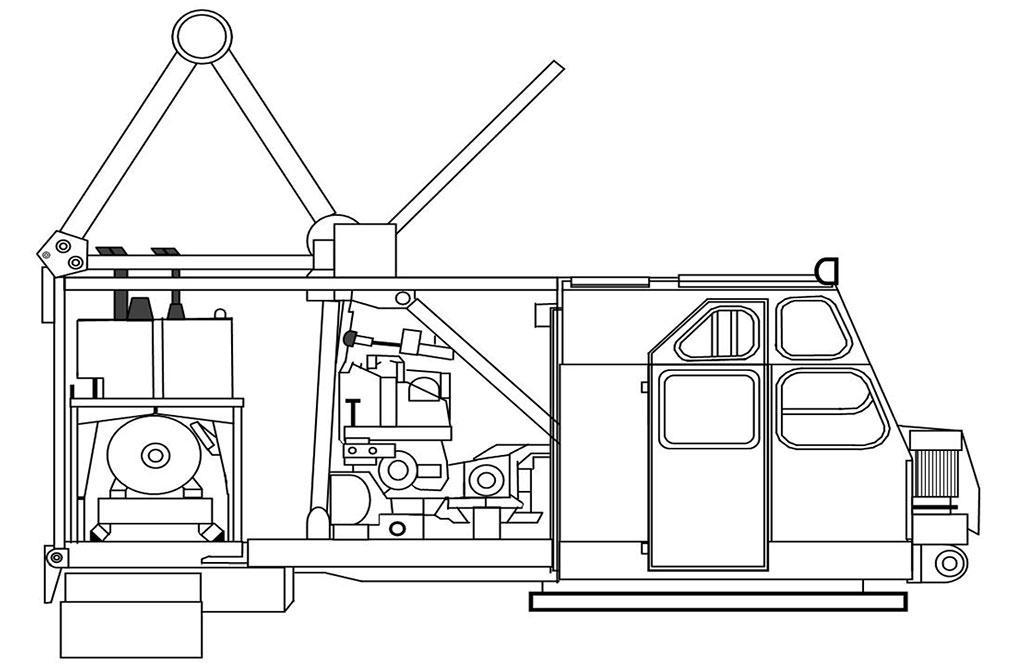 Поворотная платформа РДК-250