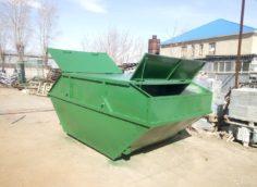Применение бункеров для мусора
