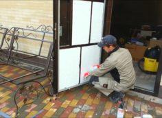 Шумоизоляция входной двери пенопластом