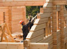 Строительство дома из клееного бруса своими руками