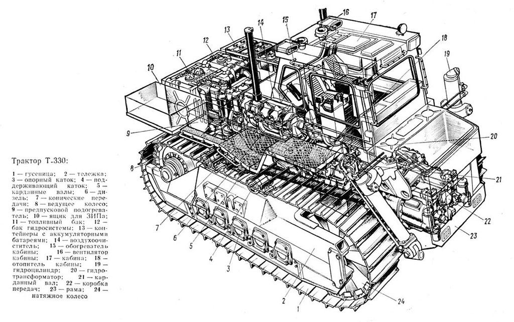 Устройство Т-330