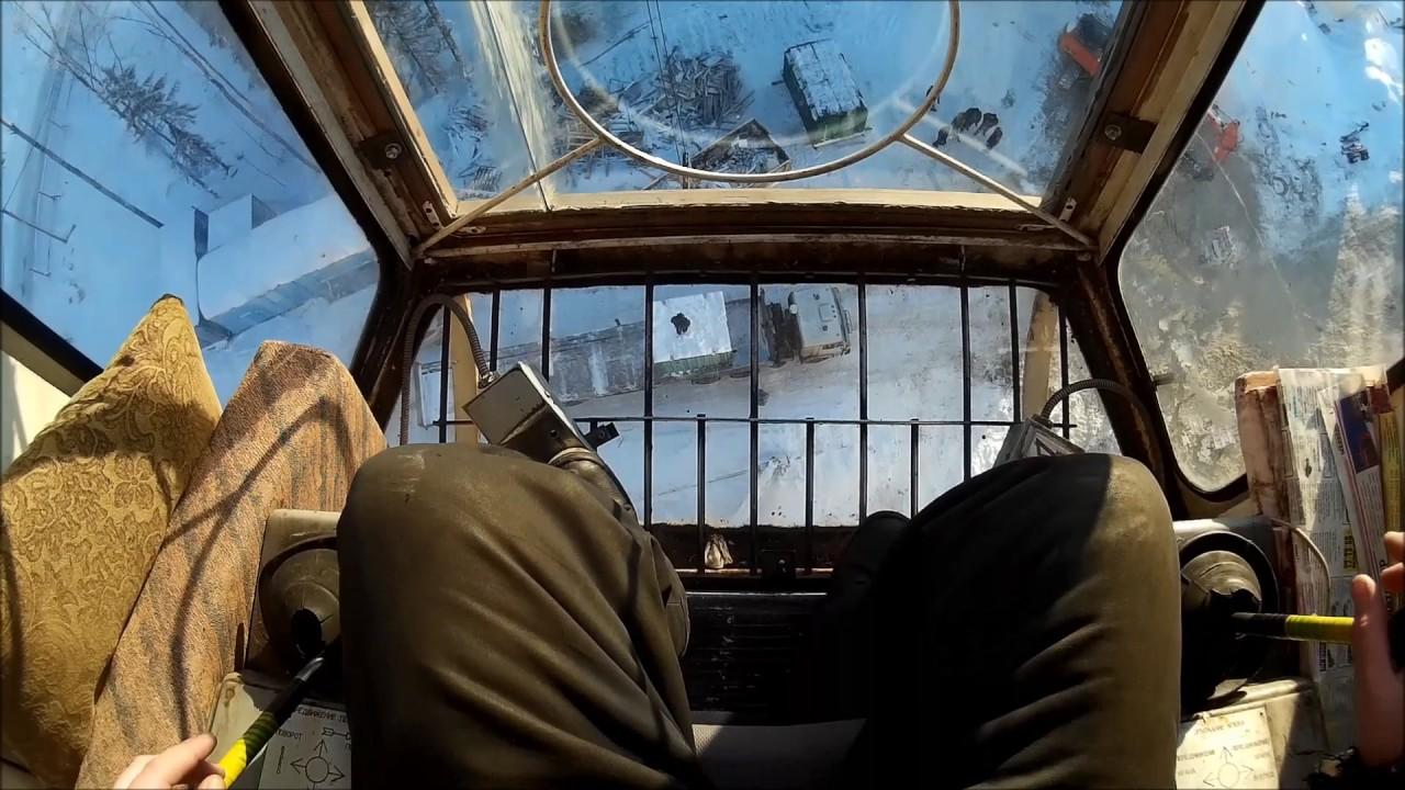 Вид из кабины машиниста